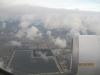 Vistas de Miami desde el avión