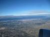 Vistas desde el avión, despegue de Barcelona