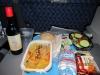 Comida en el avión BCN-Miami