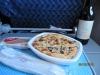 Cena en el avión BCN-Miami