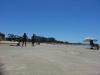 Un poco de sol en la playa