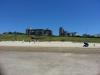 Los apartamentos desde la playa