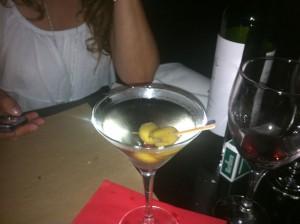un martini en el bar TABARE, barrio punta carretas, Montevideo, Uruguay
