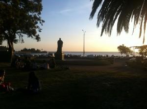 Parque Rodó de Montevideo, Uruguay