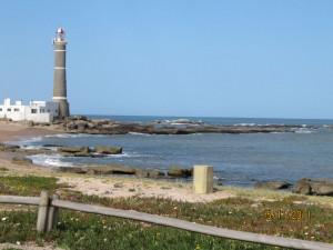 De ruta con la Harley por el Faro de Jose Ignacio en Uruguay