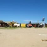 en la ruta con la Harley, Cabo Polonio, Uruguay
