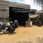 viajando por Sudamérica con la Harley