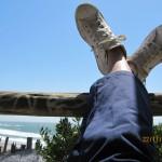en la ruta con la Harley por Sudamércia, Punta del Diablo