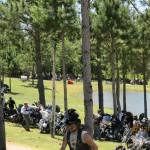 Reunion de motos Harley en Punta del Este 2011