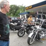 Reunión motos Harley en Punta del Diablo, 2014 Uruguay