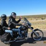 rutas en Harley por Sudamércia