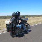 viajando en Harley por Sudamércia