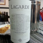 Lagarde Chardonnay 2012, Mendoza