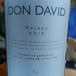 don david, malbec 2012