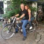 viajando en Harley por Sudamérica