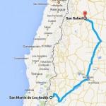 Ruta al Fin del Mundo, San Martin de los Andes a San Rafael