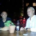 Alfred y Per en Hotel Faena, Buenos Aires