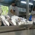 Puesto de pescado, Montevideo