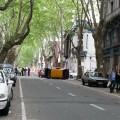 Accidente en las calles de Montevideo