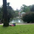 Parque Rodó en domingo