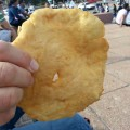 Tortas fritas en Parque Rodó