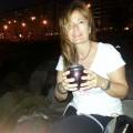 Mateando en el atardecer, Rambla de Montevideo