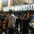 Hoy hemos estado en la presentación de los nuevos modelos Harley 2015 que recibirá y comercializará la tienda Harley en Montevideo.