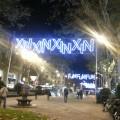 Barcelona, iluminacion Navidad, Gran Via