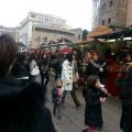 Feria de Santa Lucia en la Catedral de Barcelona