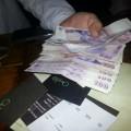 Pagando la cuenta