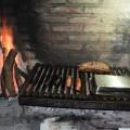 Un rico asado en Piriapolis