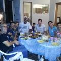 Con amigos en Zárate